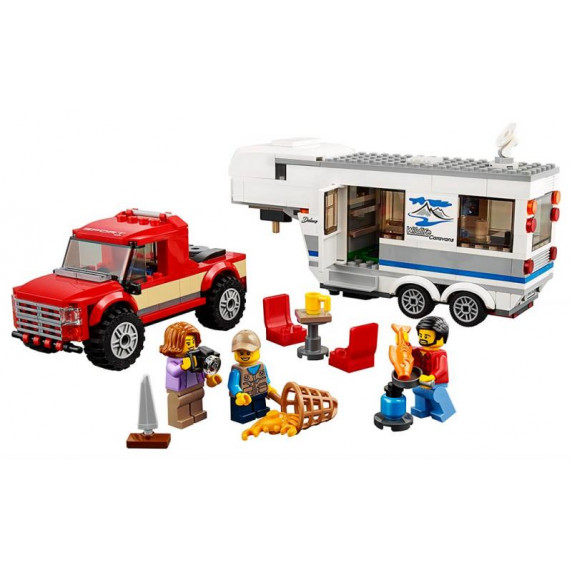LEGO City - Pick-up karavan
