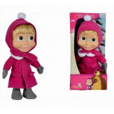 Máša a Medveď - bábika Máša 23 cm zimná Preview