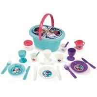 Piknikový košík Frozen Smoby s 24 doplnkami