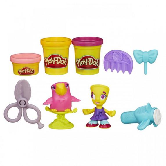 Play - Doh Town figúrka so zvieratkom - Kaderníčka
