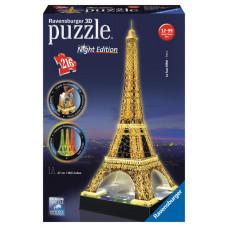 Ravensburger 3D Puzzle - svietiaca Eiffelova veža 216D Preview