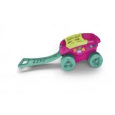 Mega Bloks - Vozík s kockami ružový Preview