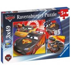 Ravensburger Puzzle Autá - Dobrodružstvo na ceste 3x49D Preview