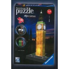 Ravensburger 3D Puzzle - Big Ben nočná edícia 216D Preview