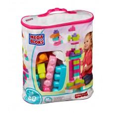 Mega Bloks - Kocky vo vrecúšku - ružové Preview