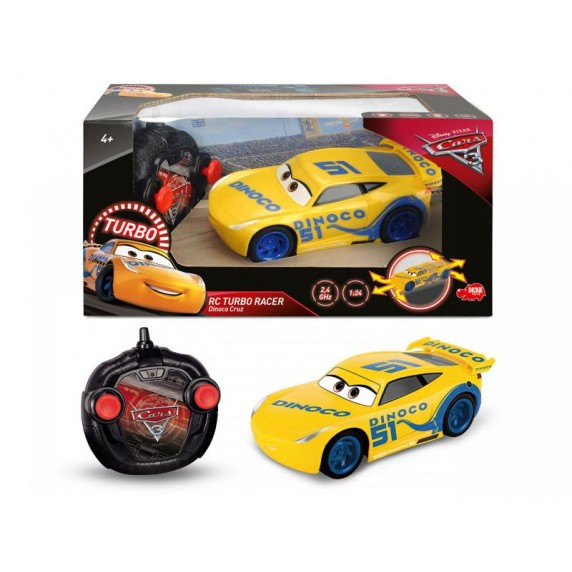 RC Cars 3 Turbo Racer Cruz Ramirezová