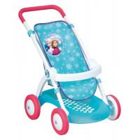 Detský športový kočík pre bábiku Frozen Smoby modrý