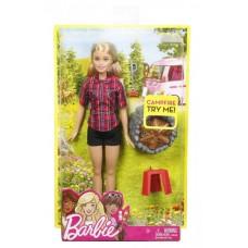 Barbie bábika pri táboráku - Blondína Preview