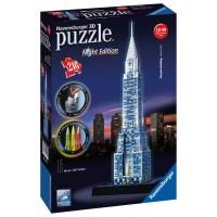 Ravensburger 3D Puzzle - Chrysler building nočná edícia 216D