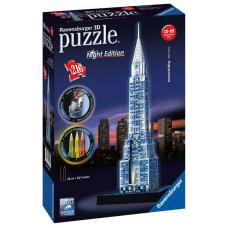 Ravensburger 3D Puzzle - Chrysler building nočná edícia 216D Preview