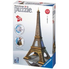 Ravensburger 3D Puzzle - Eiffelová veža 216D Preview