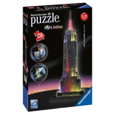 Ravensburger 3D Puzzle - Empire State Building nočná edícia 216D Preview