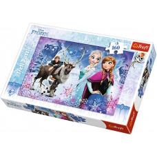 Trefl Puzzle Frozen Zimné dobrodružstvo 160D Preview