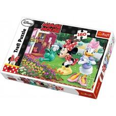 Trefl Puzzle Minnie Polievanie kvetiniek 160D Preview