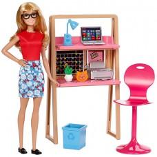 Barbie bábika a nábytok - Kancelária Preview