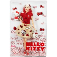 Mattel Barbie bábika Hello Kitty