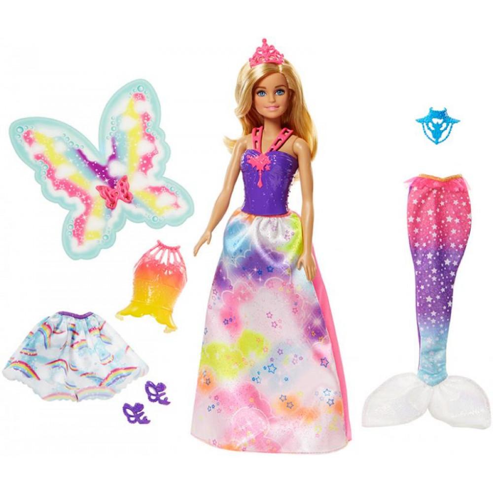 Mattel Barbie - Víla a rozprávkové oblečenie 1fb5c695ad3