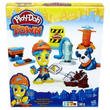 Play - Doh Town figúrka so zvieratkom - cestná stavba Preview
