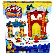 Play-Doh Town Požiarna stanica Preview