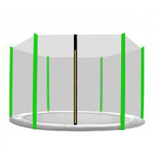 Aga Ochranná sieť 150 cm na 6 tyčí - čierna - svetlozelená Preview