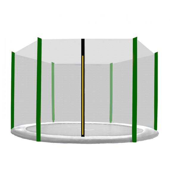 Aga Ochranná sieť 180 cm na 6 tyčí - čierna - svetlo zelená