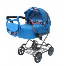 Kočík pre bábiky NESTOR STANDART 05 Blue Preview