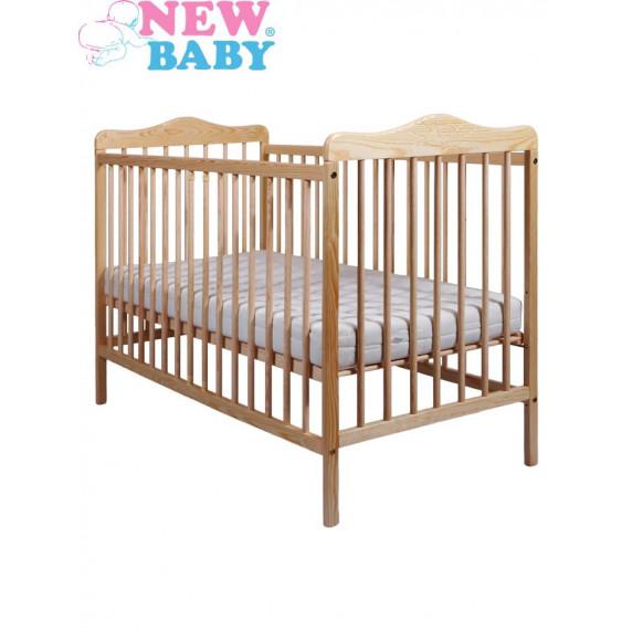 Detská postieľka New Baby Jacob - prírodná