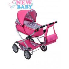 Detský kočík pre bábiky 2v1 New Baby Ruženka Preview
