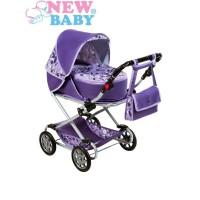 Detský kočík pre bábiky 2v1 New Baby Lily
