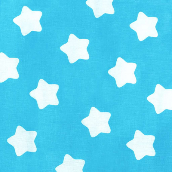 New Baby Detská sedacia súprava - hviezdičky modrá