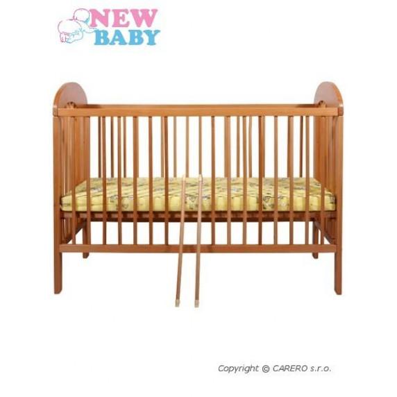 Buková postieľka NEW BABY Natalie - prírodná