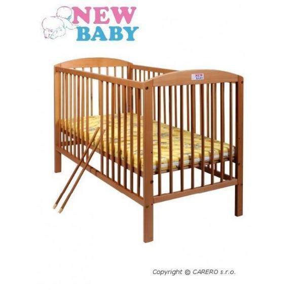 Buková postieľka NEW BABY Juliet - prírodná