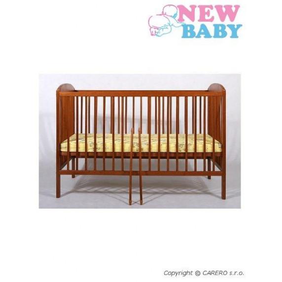 Buková postieľka NEW BABY Juliet - teak