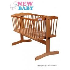 Buková kolíska NEW BABY Gabriela - prírodná Preview