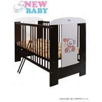 Postieľka NEW BABY Camilla - orech