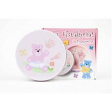 Inlea4Fun sada na detský odtlačok ružový  Preview