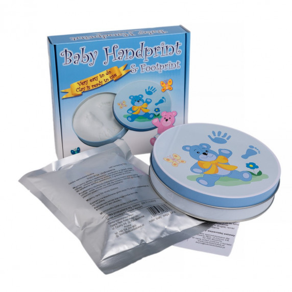 Sada na detský odtlačok Baby HandPrint  - modrá