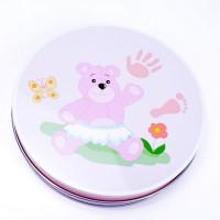Inlea4Fun sada na detský odtlačok ružový