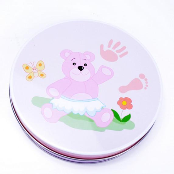 Sada na detský odtlačok Inlea4Fun - ružová