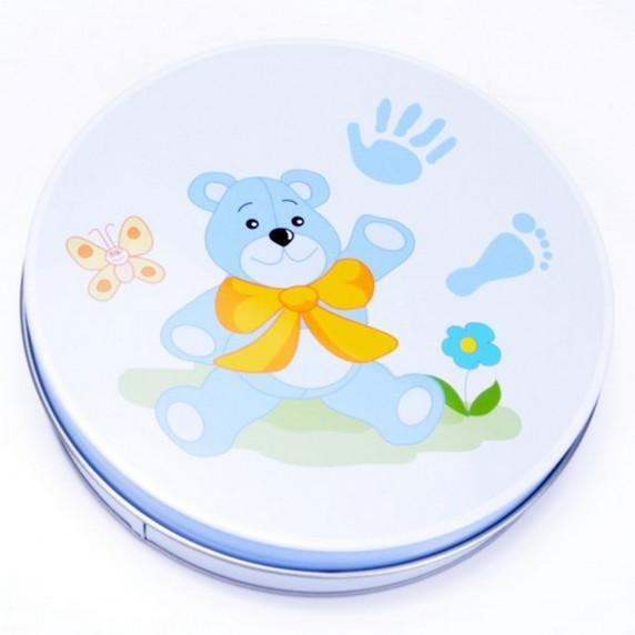 Sada na detský odtlačok Inlea4Fun - modrá