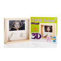 Inlea4Fun 3D rám na detský odtlačok