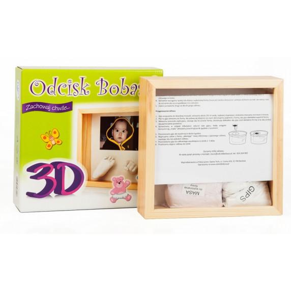 3D fotorámik s odtlačkom Inlea4Fun