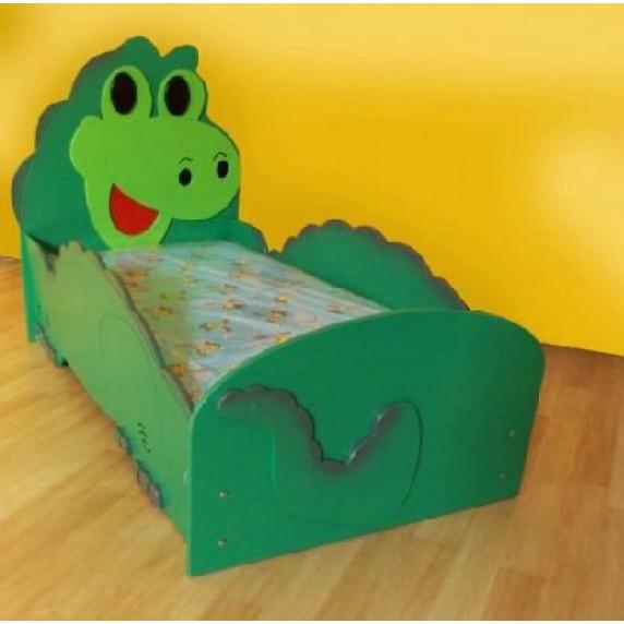 Inlea4Fun detská postieľka Dino - veľká