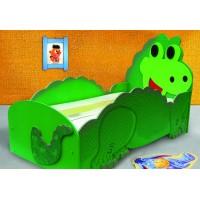 Inlea4Fun detská postieľka Dino - malá