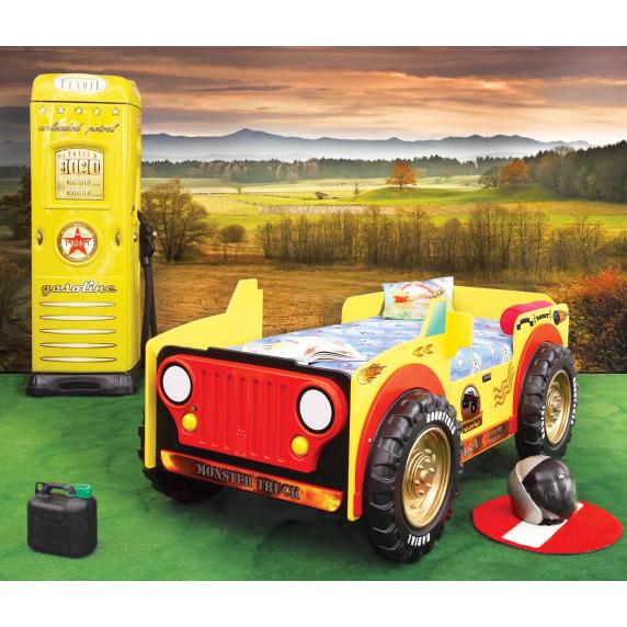 Detská postieľka Inlea4fun Monster Truck