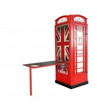 Telefónna búdka - Skrinka s písacím stolom Preview