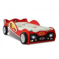 Detská postieľka Monza Mini Inlea4Fun - červená