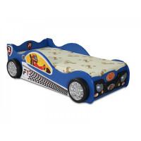 Detská postieľka Monza Mini Inlea4Fun - modrá