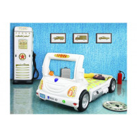 Inlea4Fun detská postieľka Truck biela