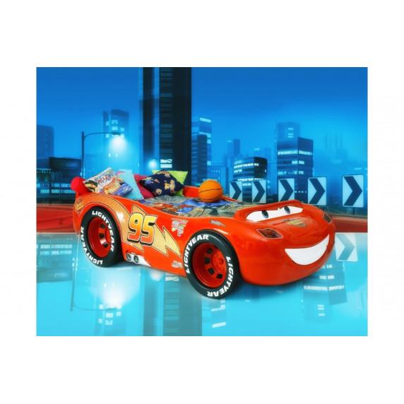 Detská postieľka Inlea4fun McQueen ABS
